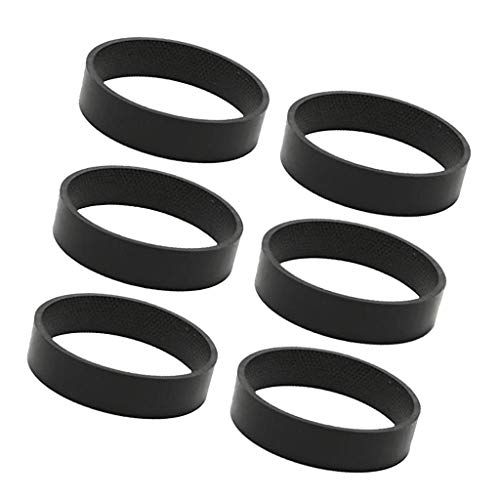 MagiDeal Set of 6 Vacuum Cleaner Belts Belt for Generation Series Replacements