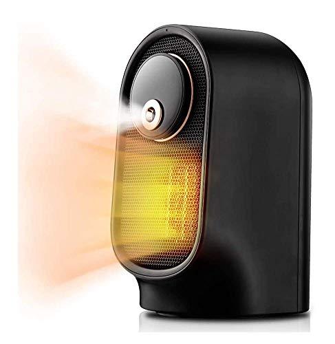 FENGLI Calentador de espacios, calefactor eléctrico portátil con función de humidificador, cerámica habitación pequeña estufa, calentador de calefacción rápida con Oscilación generalizada, Multi-prote