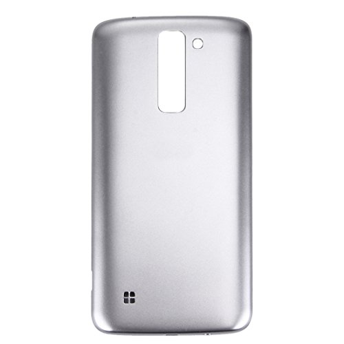 runqimudai IPartsBuy for LG K7 Back Cover Accessory Renewal Repair for Screen Protect (Color : Silver)
