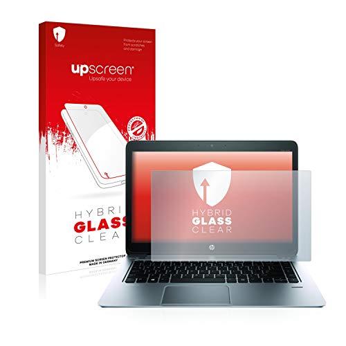 upscreen Hybrid Glass Panzerglas Schutzfolie kompatibel mit HP EliteBook Folio 1040 G1 9H Panzerglas-Folie