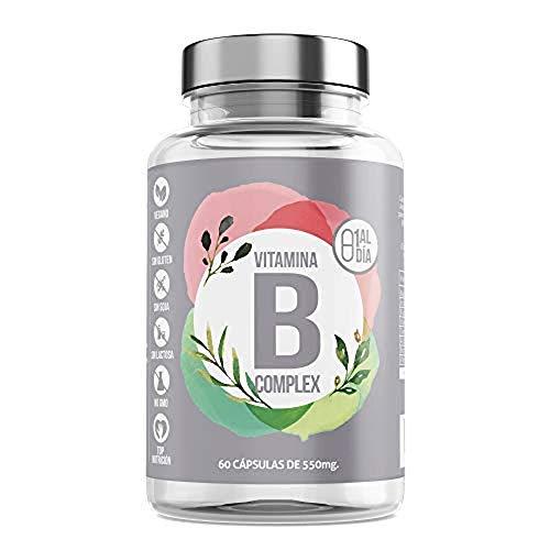 Vitamina B Complex | Complejo de Vitamina B con Minerales | Vitaminas B6 y B12 |Refuerza Tus Defensas | Aumenta Tú Energía Y Vitalidad | 60 Cápsulas – Aquisana