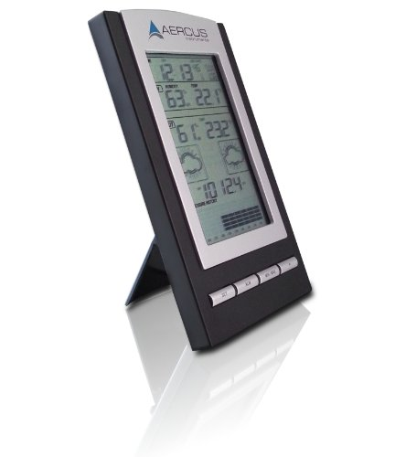 Weather Station Wireless Desktop WS1173 With Radio Controlled Time + Free 29 Page Setup/Maintenance eBook