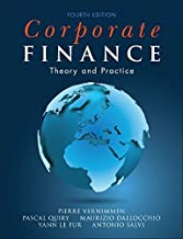 By Pierre Vernimmen Corporate Finance: Theory and Practice (4th Fourth Edition) [Paperback]
