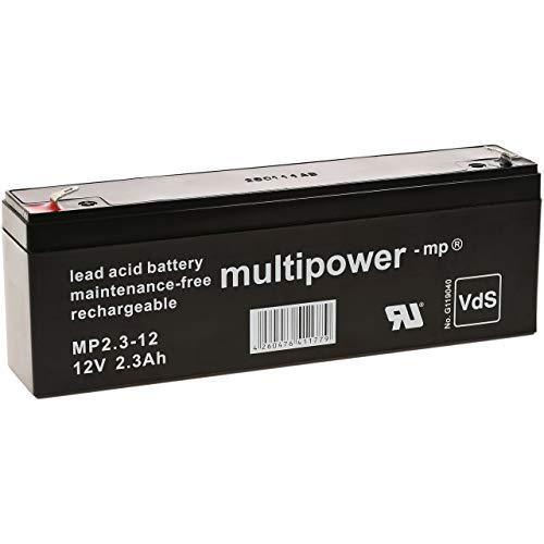akku-net Bleiakku (multipower) kompatibel zu MP2.2-12 VDs, 12V, Lead-Acid