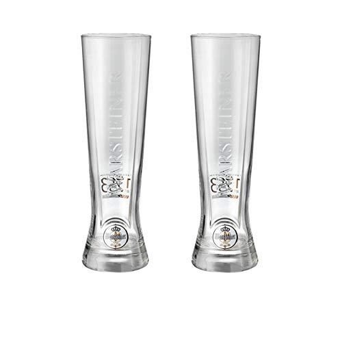 Warsteiner 2 x Weizenbierglas Premium Cup 0,25 Ltr. Edition 2019