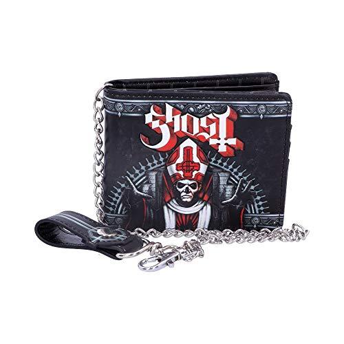 Nemesis Now Ghost Wallet-Red, PU, Black, 11cm
