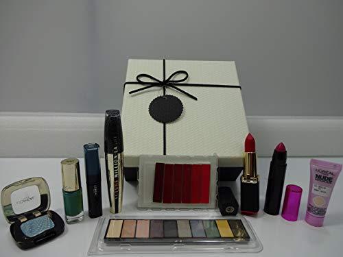 L'Oreal - Set regalo per trucchi, confezione regalo, 10 pezzi in confezione regalo