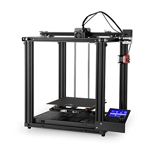PXX Home 3D Printer High-Precision Printers Industrial Photocurable Printer Multifunction Printers Mini Desktop Printer Large Toy Industry 3D Printer/Black
