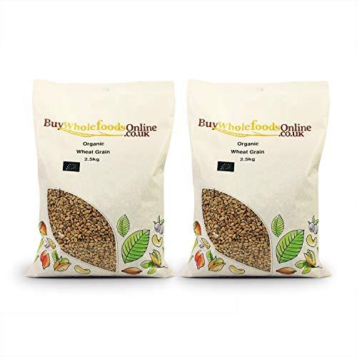 Organic Wheat Grain 5kg (Buy Whole Foods Online Ltd.)