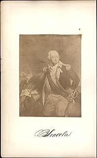 Continental Army General Benjamin Lincoln 1873 Albumen photograph antique print