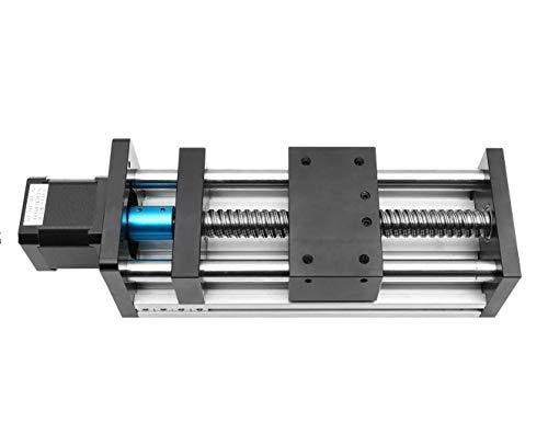 Antrella 200mm de Longueur de Course SFU1610 RM1610 Module de Coulisseau à Guidage Linéaire avec Vis à Billes 23 Nema 57 Moteur de Stepper, Série GGP pour imprimante CNC et 3D, fraiseuse