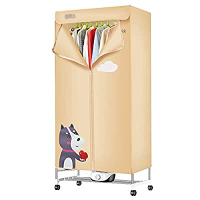 FLAMY Condenser Tumble Dryer,Small Household Dryer, Stainless Steel Bracket, 180 Minutes Timer, Overheat Protection, No Noise, Large Capacity