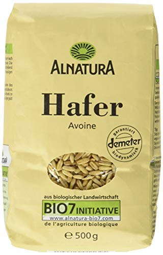 Alnatura Bio Hafer, 6er Pack (6 x 500 g)