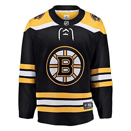 Fanatics Boston Bruins Breakaway NHL Trikot Home Schwarz, M