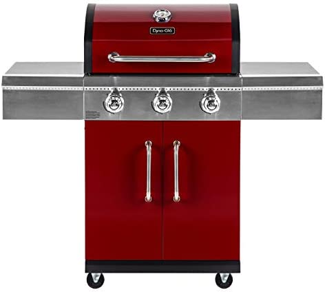 Dyna Glo DGG424RNP D 3 Burner Red LP Gas Grill product image