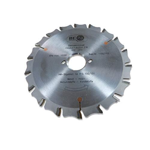 BEPo 1150/112–Hoja de sierra, HW a ventana Juntas Schneider ffs150/151N para madera y metal