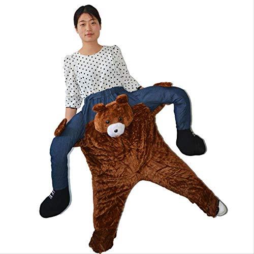 Pantalones mágicos Kumamoto Oso Parodia Puntales Posterior del Animal Personas Pantalones piernas ortopédicas Paseo de los niños del Oso de 1,8 Millones de muñecas lalay