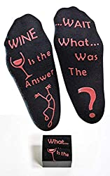 funny wine socks gifts for stressed out people