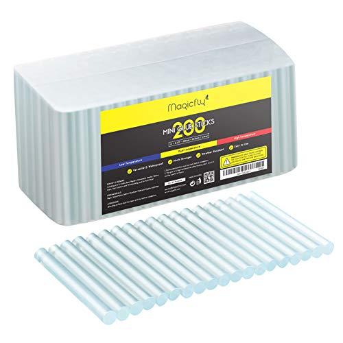 Magicfly Barras de Pegamento Termofusible 101 x 10,9 mm para Pistola de Silicona para Manualidades y Bricolaje 200 pcs