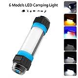 Lámpara LED para Camping Portátil Batería Recargable USB Linterna Repelente de Mosquitos Multifuncional Impermeable IP68 5 Modos de Iluminación con SOS para Camping, Senderismo, Emergencia, Outdoor