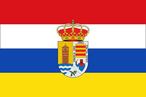 magFlags Bandera Large Árchez, Málaga, España   Bandera Paisaje   1.35m²   90x150cm