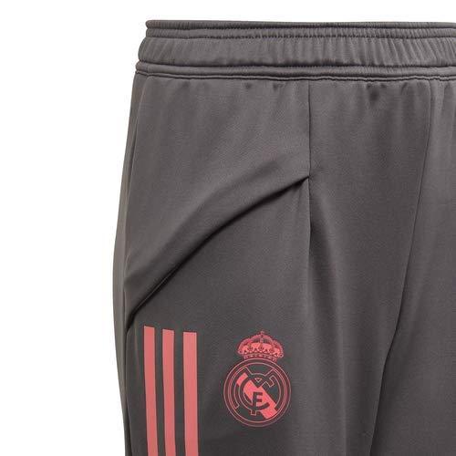 Adidas Real Madrid Temporada 2020/21 Chándal Completo Oficial, Niño, Gris, 11/12 años