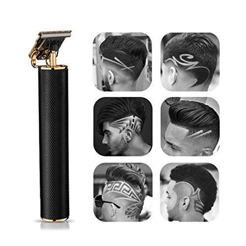 Elektrischer Pro Li Outliner Grooming Wiederaufladbarer kabelloser, eng geschnittener T-Klingen-Trimmer für Männer 0 mm kahlköpfige Haarschneidemaschine Bartspanner mit Spalt ohne Detail Friseursalon