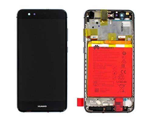 Huawei P10 Lite (Warsaw-L21) - Pantalla LCD en marco con batería, color negro