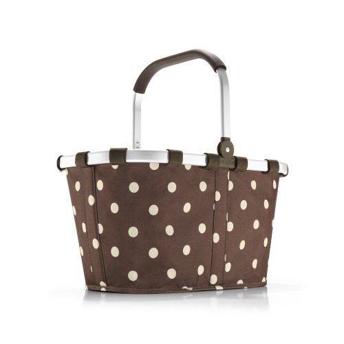 Reisenthel Carrybag, Design Anniversary Dots, Mokka Punkte (braun) - BK6018