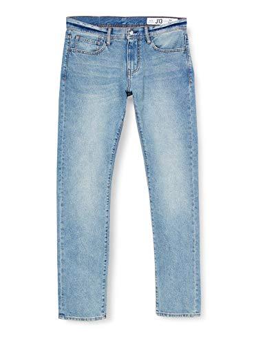 ARMANI EXCHANGE 11, 5 Ounces, Medium Blue Wash Jeans Slim, Blu (Denim Indaco 1500), W28/L34 (Taglia Produttore: 28) Uomo