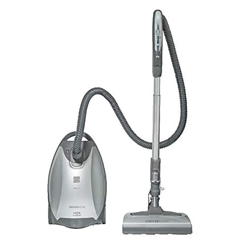 Kenmore Elite 21814 Pet Friendly Crossover Bagged Canister Vacuum Cleaner Lightweight with Pet PowerMate, Extended Telescoping Wand, Retractable Cord, 2 Floor Nozzles, and 4 Cleaning Tools