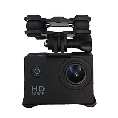 STAFFA PER CAMERA DRONE Anti-shock Gimbal Mount Adapter for Syma X8C X8G X8W X8HC X8HW X8HG RC Quadcopter - Compatible with GoPro 3 3+ 4 Camera, Xiaomi Yi Action Camera, SJCAMS SJ4000 SJ7000 Action