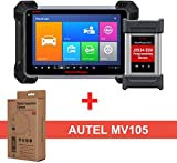 Autel MaxiCOM MK908P Diagnostic Scanner – OBD2 Automotive Scan Tool with MaxiVideo MV105 Including ECU Coding, ECU Programming and Video Inspection for Professional Technicians
