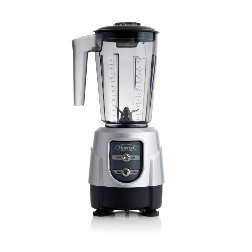 Omega BL330S 1-HP Blender, 48-Ounce Tritan Copolyester Container, Silver