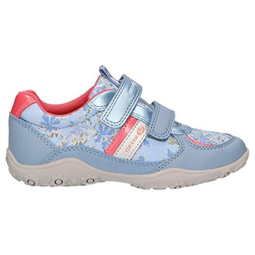 Geox Sportschuhe für Mädchen J926BB 0AW54 J Adalyn C4BE8 AVIO Schuhgröße 26