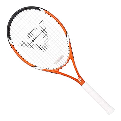 Raquetas De Tenis Full Carbon One Unisex Adultos Equipo Deportivo De Entrenamiento (Color : Orange, Size : 69cm/27 Inches)