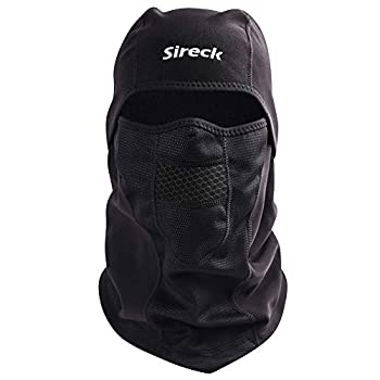 Sireck Cold Weather Balaclava Ski Mask Water Resistant and Windproof Fleece Thermal Face Mask Hunting Cycling Motorcycle Neck Warmer Hood Winter Gear for Men Women