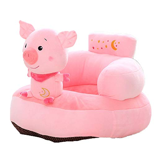 Best Prices! MDYYD Infant Sitting Chair Infant Sitting Chair Baby Support Seat Stuffed Cartoon Pig A...