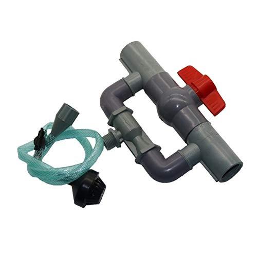 LQKYWNA G1//2 G3//4 Irrigation Fertilizer Injector Venturi Filter Injector Auto-Mix Translucent Kits Irrigation Venturi Tube Greenhouse Drip System 3//4
