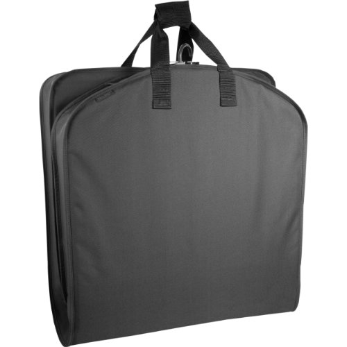 "Wally Bags 40"" Garment Bag, Black, 40 inch"