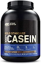 Optimum Nutrition Gold Standard 100% Micellar Casein Protein Powder, Slow Digesting, Helps Keep You Full, Overnight Muscle Recovery, Chocolate Supreme, 4 Pound (Packaging May Vary)