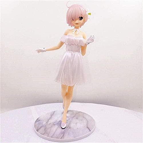 Anime figur staty mash kyrilight saber demi tjänare öde stora order tjejer pvc action figurer leksak docka anime gåvor 23cm
