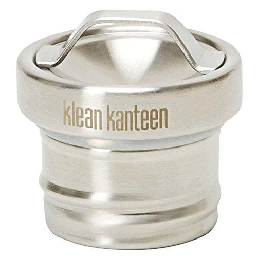 Klean Kanteen Edelstahldeckel für Classic Flaschen in Silber matt, Edelstahl, 28 x 18 x 18 cm