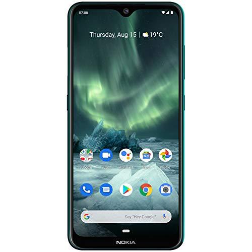 """Nokia 7.2 6 GB/128 GB Green - Tripla Fotocamera 48 MP ZEISS - 6,3"""" Full HD+"""