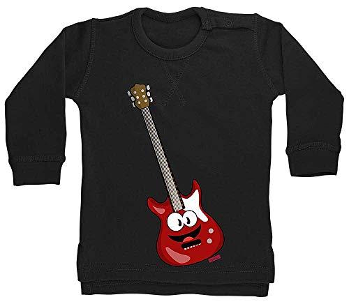 Hariz - Suéter para bebé, guitarra eléctrica, instrumentos de sonrisa para niños,...