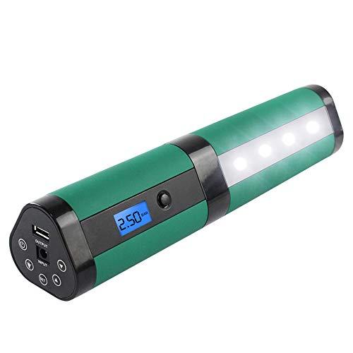 WYLDDP 12V 160PSI Handheld sin Cuerda Inflable Bomba de Aire del neumático de Coche para inflar Digital Recargable de Emergencia automático de la Motocicleta
