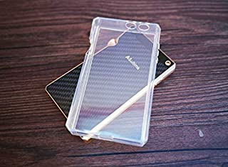 Soft Cover Crystal TPU Clear Case for iriver Astell&Kern SP1000 with Front Screen Protector Tempered Glass (Clear)