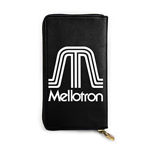 Mellotron 財布 長財布 多機能 軽量 メンズ レディース カード12枚入れ レザー 再生皮 小銭入れ ウォレット ファスナー 大容量 ビジネス カジュアル ギフト