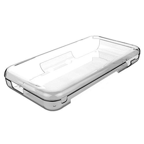 TUTUO Hülle für New Nintendo 2DS XL TPU Schutzhülle Cover Klar Case Shell Kompatibel mit Nintendo 2DS XL 2017 (Transparent)