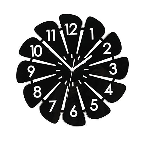 GZQDX Reloj de Pared con Personalidad Reloj de Pared Europeo Diseño Moderno Decoración de habitación Reloj de Pared Diseño Moderno Hogar (Size : 40cm)